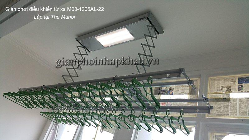 Hình lắp số 1 model: M03-1205AL-22